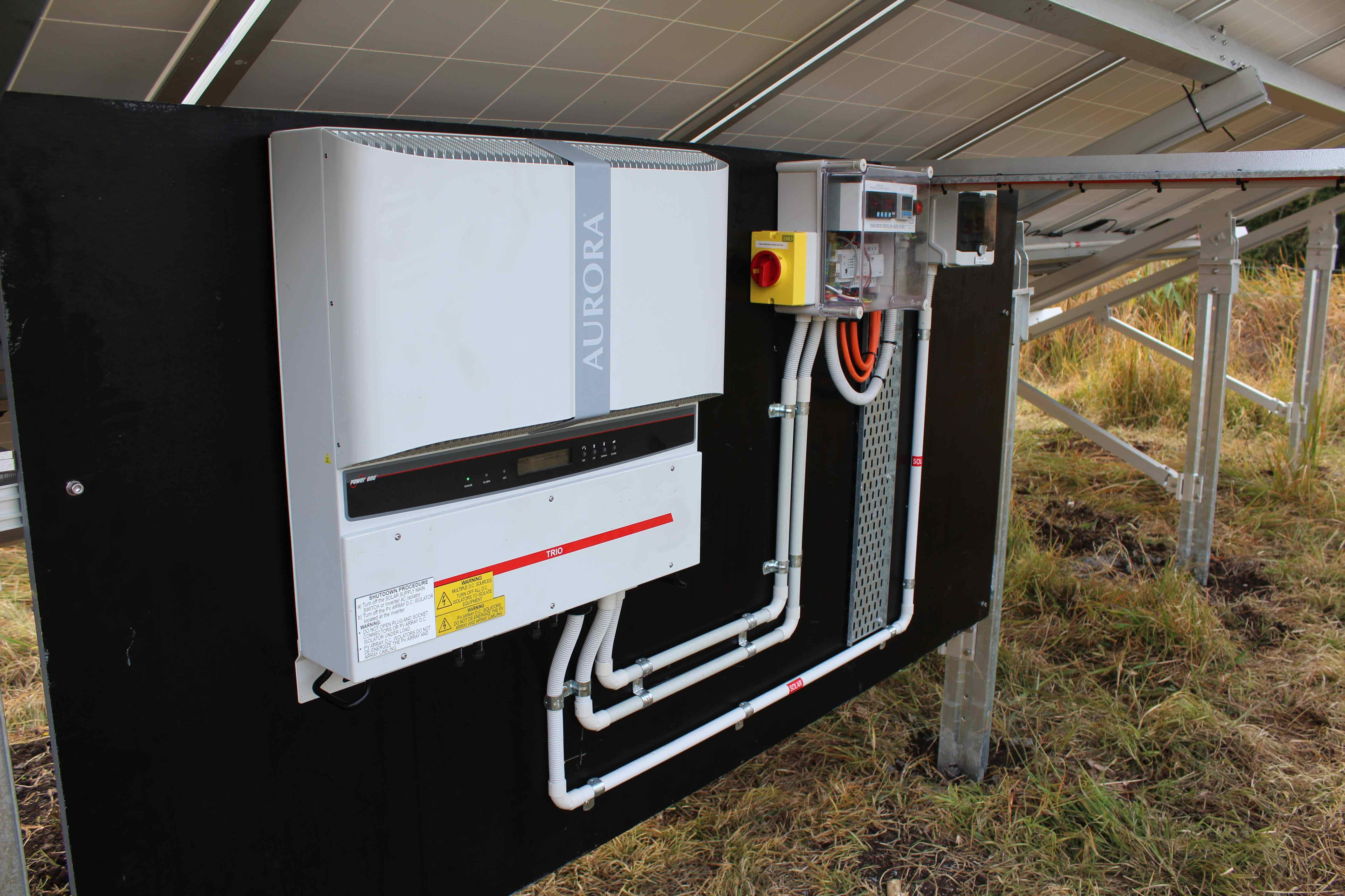 Brisbane Qld Commercial 10kw Groundmount System Dynalec
