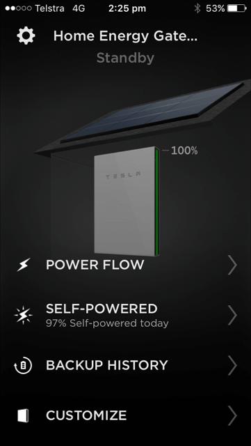 Tesla Powerwall 2 Gold Coast Tesla App
