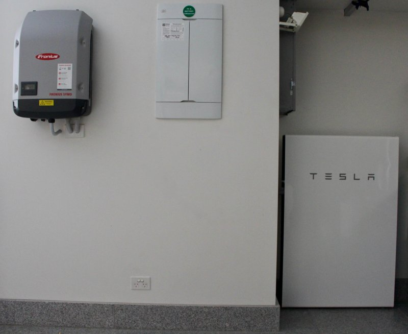 First Powerwall 2 in QLD to be installed on a 3 phase
