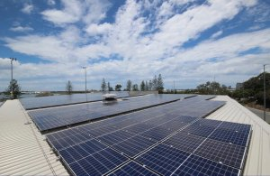 Gold Coast Aquatic Centre - Commercial Solar Installation